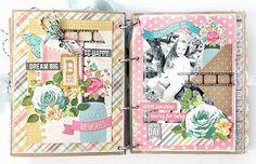 The Twinery: Paper Bag Mini Album