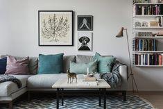 Vardagsrum livingroom Hammarby Allé 55 B | Fantastic Frank