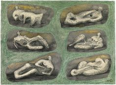 Henry Moore ,Reclining Figures: Ideas for Stone Sculpture