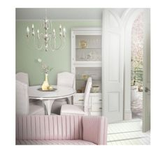 """""""Welcome Spring !"""" by kseniz13 ❤ liked on Polyvore featuring interior, interiors, interior design, home, home decor, interior decorating, pastel, interiordesign, homedesign and Spring2017"""
