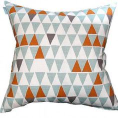 Spira Jaffa Light Turquoise Swedish Cushion -Hus & Hem- Scandinavian Design For The House And Home ($20-50) - Svpply