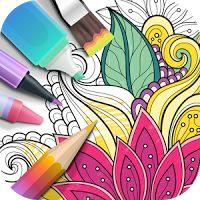Garden Coloring Book 2.8.8 APK Unlocked Apps Art - Design