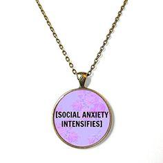 "Purple Floral [Social Anxiety Intensifies] Necklace, 18"" Snark Factory http://www.amazon.com/dp/B00ZQ3P71I/ref=cm_sw_r_pi_dp_0n-lwb1NPFAAM"