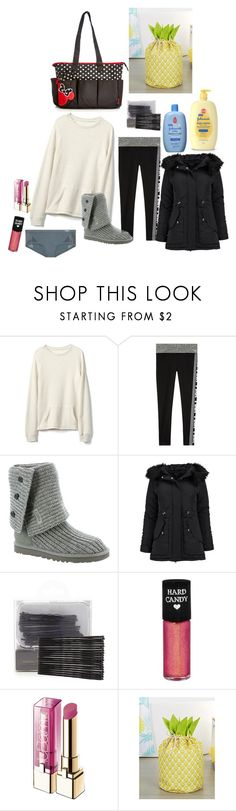 """""""Gianna running errands with Fiona and Deb (taking care of Franny and Liam)"""" by bambibabysweetheart ❤ liked on Polyvore featuring Gap, Victoria's Secret, UGG Australia, Boohoo, Johnson's Baby, Forever 21, Hard Candy, L'Oréal Paris and Simons Maison"""