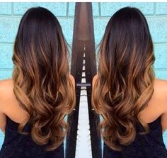 Ombre Hair tom quente