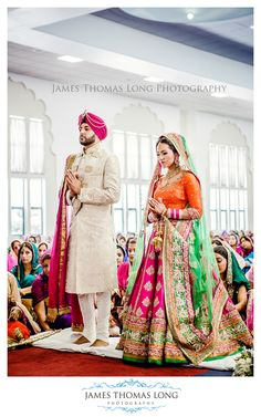 California Sikh Wedding by James Thomas Long Photography - Indian Wedding Site Home - Indian Wedding Site - Indian Wedding Vendors, Clothes, Invitations, and Pictures. I know this bride! Indian Wedding Photos, Indian Wedding Photographer, Big Fat Indian Wedding, Indian Bridal Wear, Indian Wedding Outfits, Bridal Outfits, Indian Outfits, Bridal Dresses, Indian Weddings