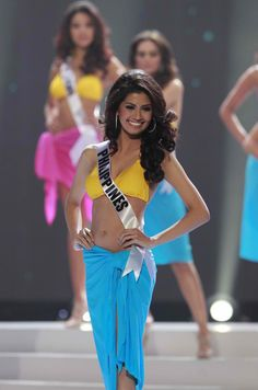 Miss Universe 2011 3rd runner-up Shamcey Supsup