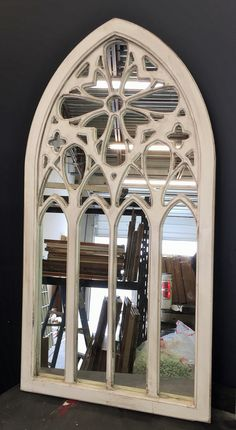 Cathedral Wall Mirror For The Wall Window Mirror Arch