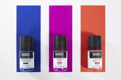 Our acrylic gouache gives you a creamy, fluid texture with superb brushout, straight from the bottle. Application feels effortless and flowing, with no drag - making it perfect for large area coverage or fine detail. And because you don't need to add water, your colors keep their true vibrancy.  #acrylic, #paint, #design, #paintonwood, #fabricpainting, #artsandcrafts, #acrylicpaint, #modernart, #canvas, #acrylicgouache, #goauche Fabric Painting, Painting On Wood, Liquitex, Brush Strokes, Gouache, All The Colors, Modern Art, Arts And Crafts, Texture