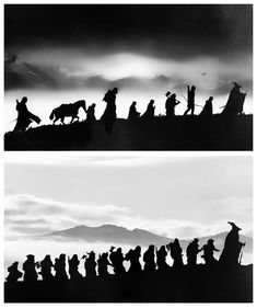 The Fellowship of the Ring & The Company of Thorin Oakenshield. I'm glad I'm not the only one who noticed the symmetry