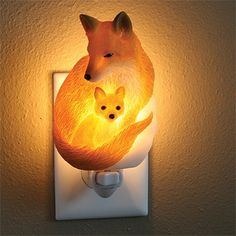 Fox Night Light
