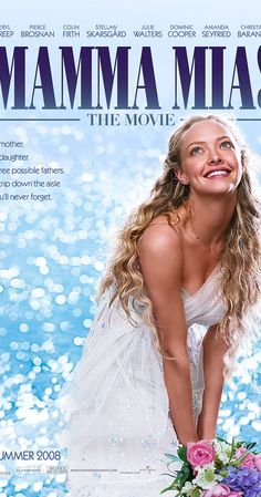 Directed by Phyllida Lloyd.  With Meryl Streep, Pierce Brosnan, Amanda Seyfried, Stellan Skarsgård. The story of a bride-to-be trying to find her real father told using hit songs by the popular '70s group ABBA.