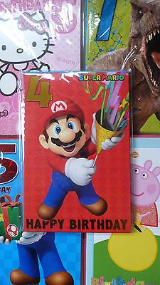 Childrens birthday cards - peppa pig | hello #kitty | mario | #barbie | #thomas e,  View more on the LINK: http://www.zeppy.io/product/gb/2/252119748757/