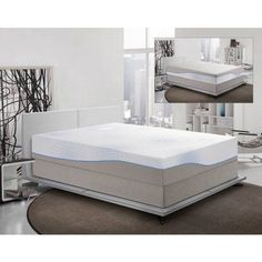Spa Sensations 12 Theratouch Memory Foam Mattress Multiple Sizes