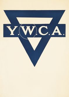 YWCA (emblem) by Artist Unknown   Shop original vintage #posters online: www.internationalposter.com