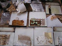 encaustic layering process