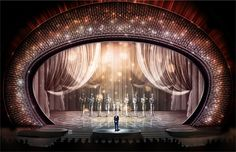 The 2017 Oscars Stage Is Inspired by Vintage Art Deco Style Photos | Architectural Digest