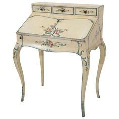 Antique Painted French Slant Desk available for sale at Atelier1505.com