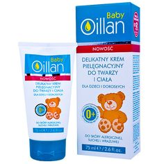 OILLAN Baby Cream with delicate face and body cream Mother And Baby, Mom And Baby, Vitamin E, Face And Body, Allergies, Babe, Delicate, Personal Care, Cream
