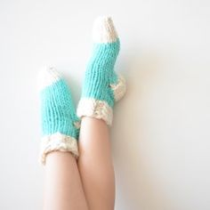 Thick Knit Slipper S