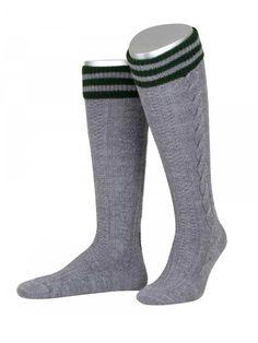 German Bavarian Oktoberfest Traditional 2 Piece Causal Trachten Socks