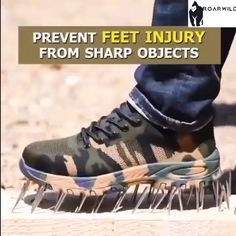 Mens Steel Toe Work Shoes Lace-up Slip-resistant Ca. Mens Steel Toe Work Shoes Lace-up Slip-resistant Camouflage Athletic Shoes - Mens Fashion Blog, Mens Fashion Shoes, Men S Shoes, Your Shoes, Men's Fashion, Camouflage, Bean Bag Bed, Steel Toe Work Shoes, Things I Need To Buy
