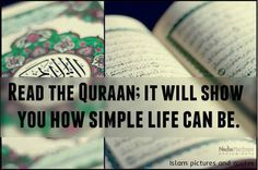 life is simple and beautiful with ISLAM #QuranLove