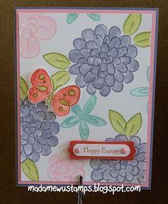 Stampin' Up! Flower Fest