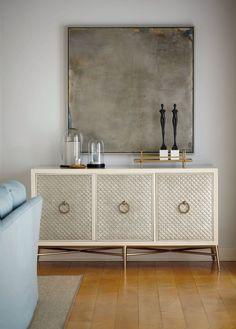 Salon Entertainment Bar Console - Bernhardt Furniture   Luxe Home Philadelphia