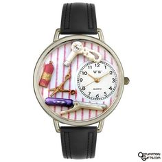 Hairdresser / Beautician Watch - If you're looking for hairdresser gifts, this would be a good idea. Cute and colorful, this unique hair stylist watch displays to the world their passion.