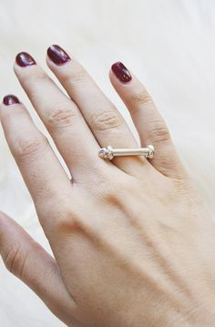 Must-have ring for when you want to make a statement with your ring choice.