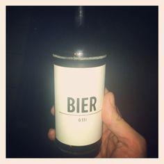 """""""Berlin - Tag 2 - Ein Bier namens Bier - 6 Uhr - Ab nach Hause. Guten Nacht Dickes B. #berlin #stadtbad #city #trip #weekend #party #bierbier #crazy"""""""