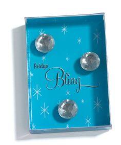 """""""Fridge Bling"""" Diamond Magnets in Gift Packaging Favor"""
