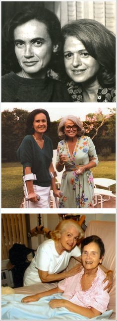 Edie Windsor and Thea Spyer. Legends #Lesbian #couples #LesbianCouples