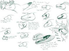 Dragon mouths