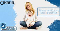 Entra en okenebebe.com/es para obtener información sobre el pijama anticólico para lactantes.