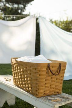 The Fresh Start Basket makes summertime laundry a breeze.