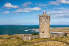 Photograph - Doonagore Round Tower Ireland by Pierre Leclerc Photography , Amazing Gardens, Beautiful Gardens, Round Tower, Castles In Ireland, Emerald Isle, Tower Bridge, Luxury Travel, Trip Planning, Monument Valley