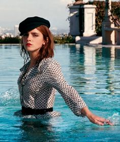 """All Rise"" Emma Watson for Porter Magazine Winter Escape 2016"