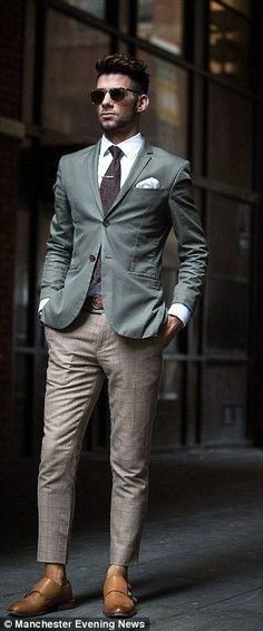 15 Dashing Suit Outfit Ideas For Men – PS 1983