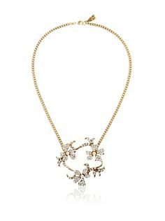 Yochi Floral Open Necklace