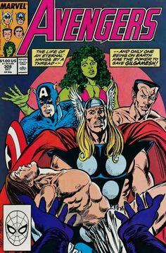 The Avengers #308, 1989
