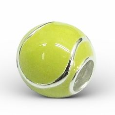 TENNIS BALL for Pandora Tennis ball music player.  How adorable!!! reminds me of my tennis days!!