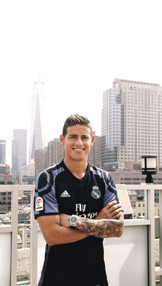 James Rodriguez, in New York City