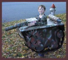 Homemade Tank Costume