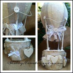 My shabby chic air balloon....totally handmade
