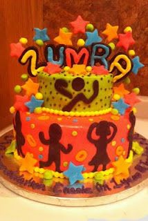 Zumba Cake Idea...holy crap! This is awesome! Very Cute.... I can't make this- but looks very cute...