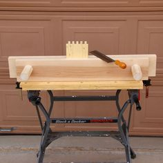 Make A Bench Vise For Woodworking