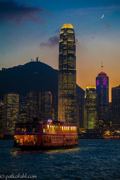 Night Flight to Hong Kong by Pat Kofahl on 500px
