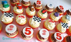 SweetThings: 5th Birthday: Cars 2 Cupcakes